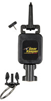 Flashlight Gear Keeper Retractor - Mini - Combo Mount