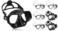 Aqualung Look 2 Mask - Black Silicone/Blue