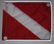 "Reflective Dive Flag - 14"" X 18"""