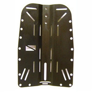 Hog Backplate - Aluminum - Black