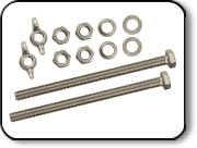 "7.25"" Highland Tank Bolt Kit"
