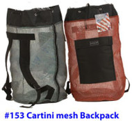 #153 Armor Cartini Red Mesh Bag