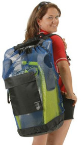 #28 Armor XL Mesh Backpack with Side Zipper - Black
