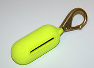 Yellow 2# Clip On Weight