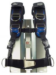 L - Dive Rite Transplate Harness - Blue -Large