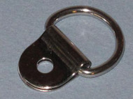 Stainless Steel D-Ring with Clip