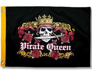 "Pirate Queen Flag - 12"" x 18"""