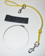 NESS Stage Bottle Rigging Systems - Yellow - Medium Bolt Snap For 40's
