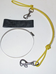 NESS Stage Bottle Rigging Systems - Yellow - Butterfly Bolt Snap For 40's