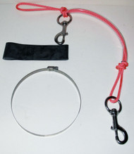 NESS Stage Bottle Rigging Systems - Pink - XL Bolt Snap For 40's