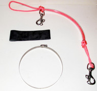 NESS Stage Bottle Rigging Systems - Pink - Butterfly Bolt Snap For 40's
