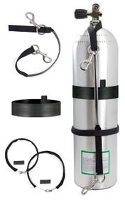 "Highland Stage Bottle Strap Kit - 5.125"" to 6"""