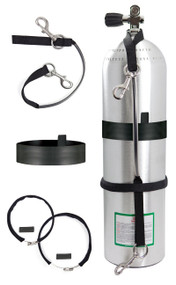 "Highland Stage Bottle Strap Kit - 6.5"" to 8"""