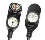 XS Scuba Navigator - 3 Gauge Console - Meters