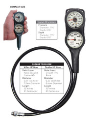 Highland - 2 Gauge Console - DouKev Hose - Meters