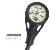 XS Scuba Pressure Gauge - BAR
