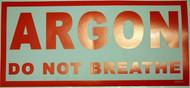 Argon Sticker - Large