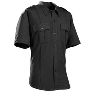 Galls DutyPro Short Sleeve Polyester Solid Men's Shirt - Small