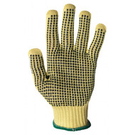 7 Gauge Dotted ShurRite Knit Glove Kevlar Knit - Small