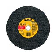 DEWALT DW8020 Metal Port Saw Cut-Off Wheel, 14-Inch X 1/8-Inch X 1-Inch