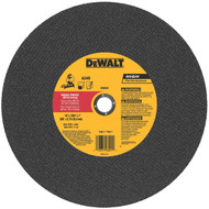 DEWALT DW8001 General Purpose Chop Saw Wheel, 14-Inch X 7/64-Inch X 1-Inch