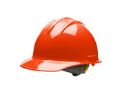 Bullard C30 Classic Series Hard Hats w/ Ratchet Suspension - Orange