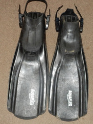 Used Genesis Aquaflex Fins - Regular