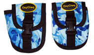 OxyCheq Medium Weight Pocket - Blue Camo - PAIR
