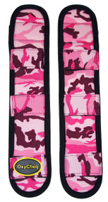 OxyCheq  Shoulder Pads - Pink Camo