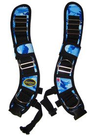 Oxycheq Adjustable Harness - Blue Camo