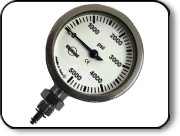 "Highland 2.5"" Pressure Gauge - Bare"