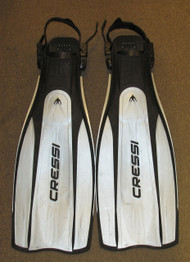 Used Cressi Pro Light Fins - XXL