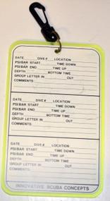 Used - Dive Log Slate