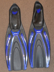 Used - Oceanic Caribe X Full foot Fins  - 3/4