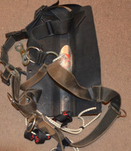 Used - Dive Rite ABS Backplate with Harness