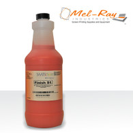 Finish S1 Blockout Liquid, Red-quart