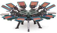 Vastex V-2000HD Floor Standing 10 Station 10 Color Press