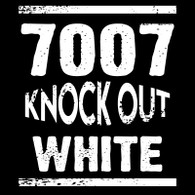 7007 Knock Out White