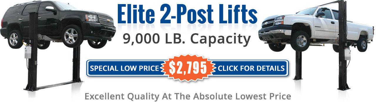 Elite 2 post lift