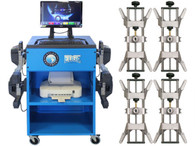 Atlas® Edge 501 Wireless 8 Camera Alignment Machine With 4 Point Clamps