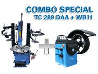 TC289DAA + WB11 wheel balancer and tire changer