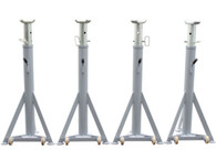 Atlas® Tripod Support Stands - Set of Four 12,000 LB. Capacity Each