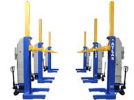 Atlas® 111,000 LB. ALI Certified Battery Powered Mobile Column Lift System