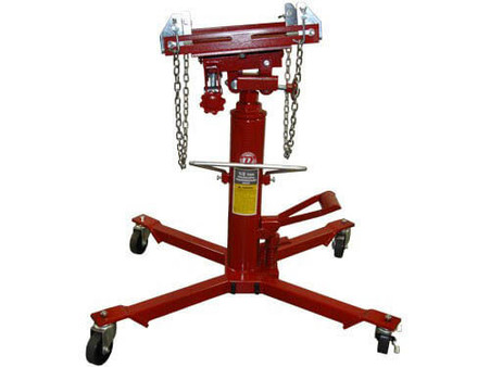 1,000 Lb. Capacity 2 Stage Hydraulic Transmission Jack with Foot Pedal