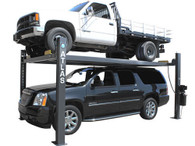 Atlas® 409-HP Premium 9,000 Lbs. Capacity Portable 4 Post Lift  (EXTRA TALL, EXTRA WIDE)