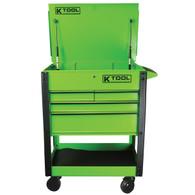 Tool Cart Locking Drawer, Green