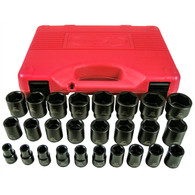 26-Piece 1/2,  Drive Short Impact Socket Set