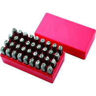 Steel Hand Stamp Set 36Pc