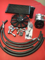 BMW 2002  AC  Air Conditioning under hood complete kit