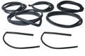 BMW E10 1600 2002 2002tii 7 Piece Rubber Seal Kit -   2 Doors & Front & Rear Windshields ,Trunk & Quarter Windows  For reference Includes Part numbers:  51 31 7 440 104 - Front Windshield 51 31 7 440 154 - Rear Winshield 51 71 5 476 161 - Trunk 51 71 1 808 685 - Left Door 51 71 1 808 686 - Right Door 51 36 7 441 112 - Left Quarter Window 51 36 7 441 113 - Right Quarter Window